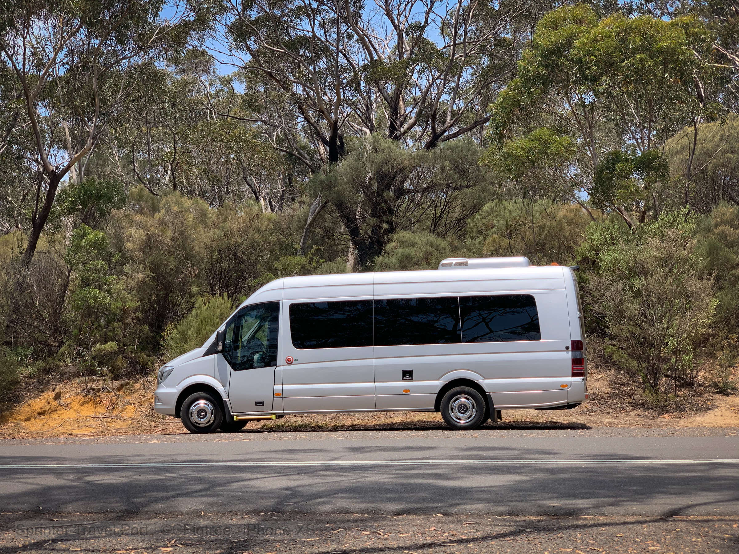 Sydney Adventure Tours tour bus for private charter